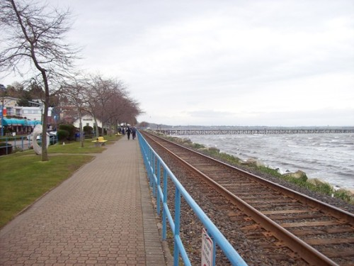 White Rock train tracks