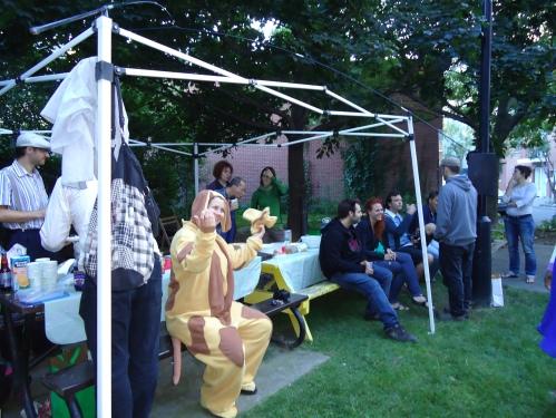 Souper communautaire au parc Coupal (photo: Eco-Quartier)