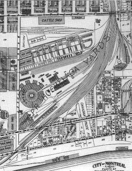 Hochelaga Yards circa 1907, Atlas Pinsonneault